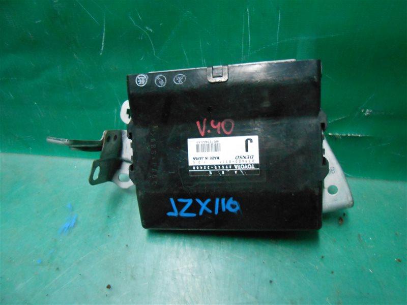 Блок управления abs Toyota Verossa JZX110 1JZ-FSE-D4 2001