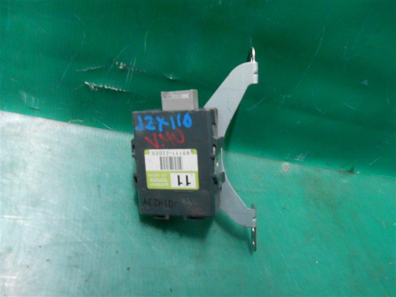 Блок управления Toyota Verossa JZX110 1JZ-FSE-D4 2001