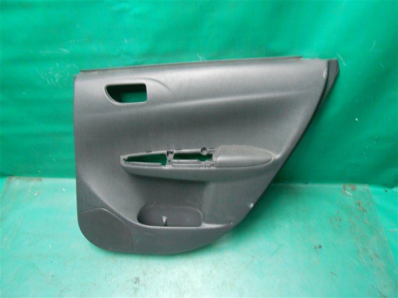 Обшивка двери Subaru Impreza GH3 EL154 2008 задняя правая