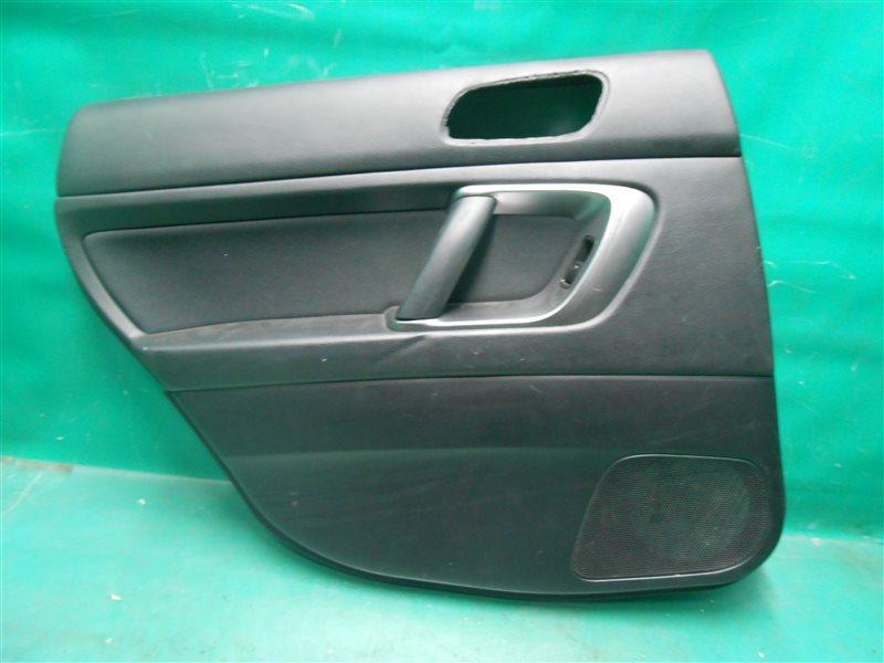 Обшивка двери Subaru Outback BP9 EJ253 2005 задняя левая
