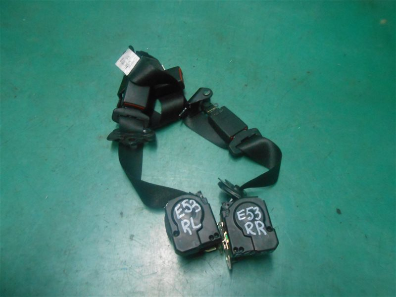 Ремень безопасности Bmw X5 E53 M54B30 2004 задний