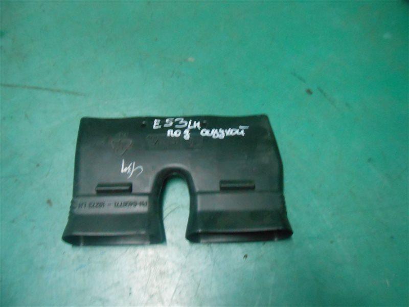Воздуховод Bmw X5 E53 M54B30 2004 левый