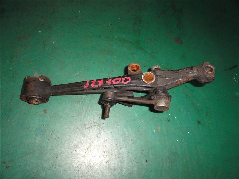 Рычаг подвески Toyota Mark Ii JZX100 1JZ-GE 1998 передний правый нижний