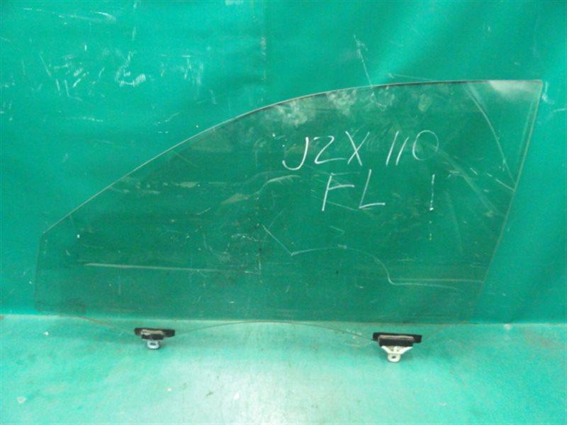 Стекло двери Toyota Verossa JZX110 1JZ-FSE-D4 2001 переднее левое
