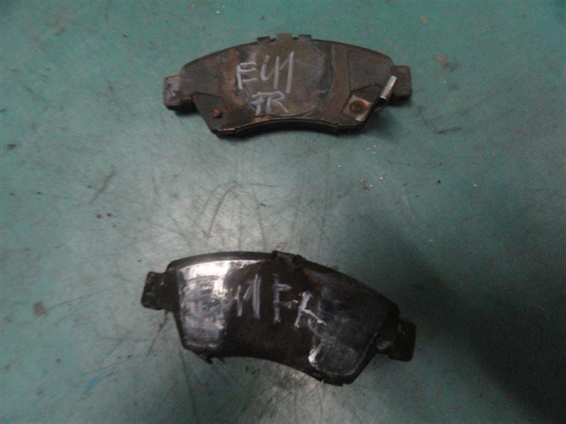 Тормозные колодки Honda Civic EU1 D15B 2001 переднее правое
