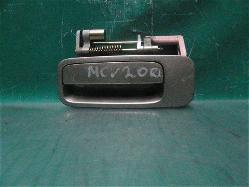 Ручка двери внешняя Toyota Windom MCV20 1MZ-FE 2000 задняя левая