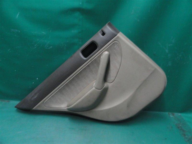 Обшивка двери Honda Civic Ferio ES3 D17A 2004 задняя левая