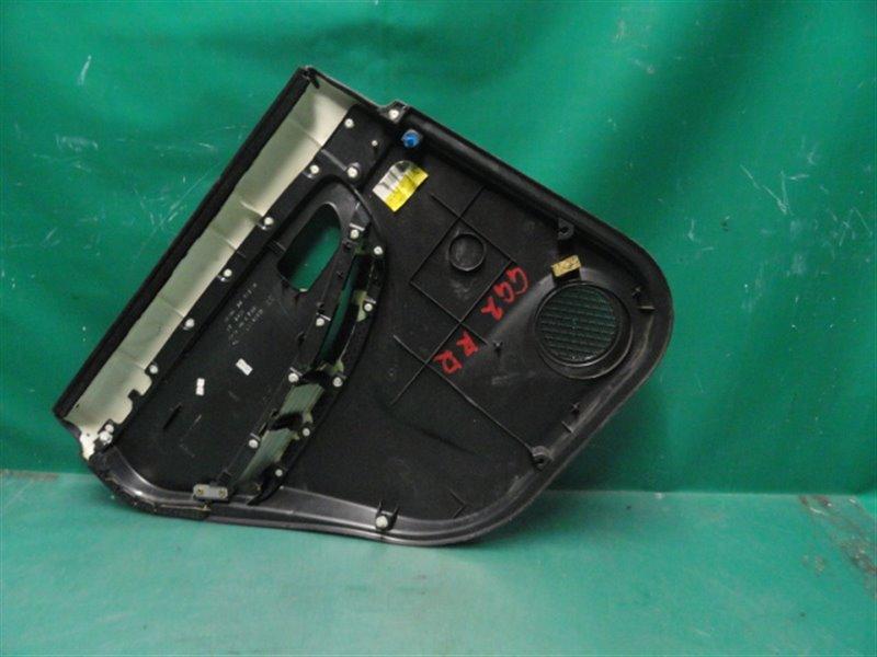 Обшивка двери Subaru Impreza GG2 EJ152 2005 задняя правая