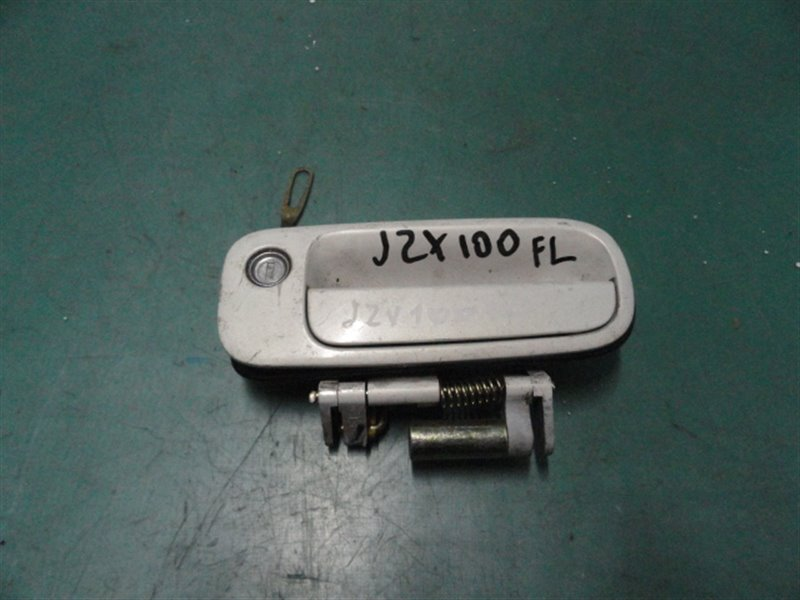 Ручка двери внешняя Toyota Mark Ii JZX100 1JZ-GE 1998 передняя левая