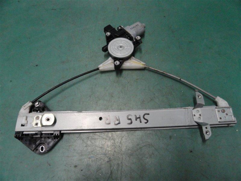 Стеклоподъемник Subaru Forester SH5 EJ205 2008 задний правый
