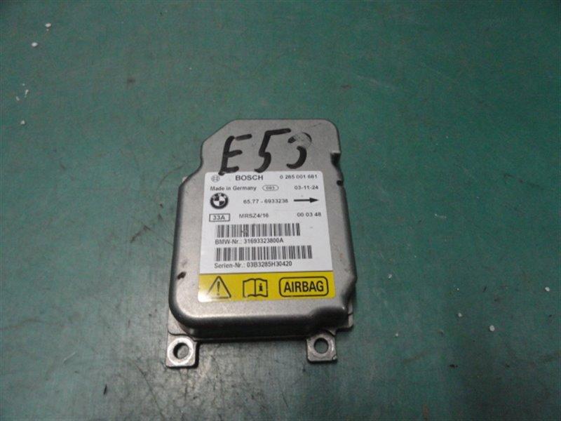 Блок srs Bmw X5 E53 M54B30 2004