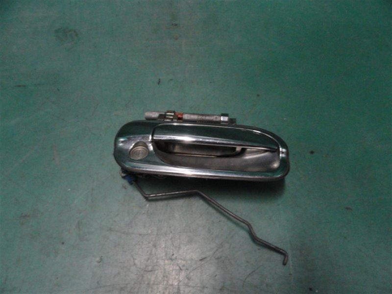 Ручка двери внешняя Nissan Sunny B15 FB15 QG15 2002 передняя правая