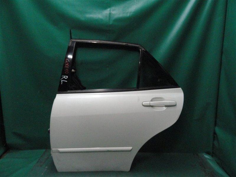 Дверь Toyota Altezza GXE10 1G-FE 2001 задняя левая