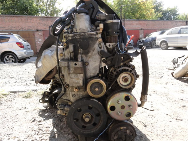 Двигатель Honda Fit GD3 L15A 2002