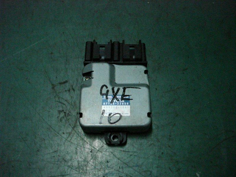 Реостат Toyota Altezza GXE10 1G-FE 2001