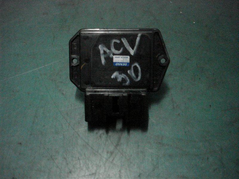 Реостат Toyota Camry ACV30 2AZ-FE 2003