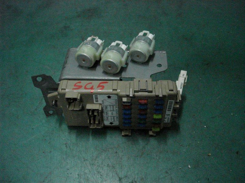Блок предохранителей салона Subaru Forester SG5 EJ205 2005