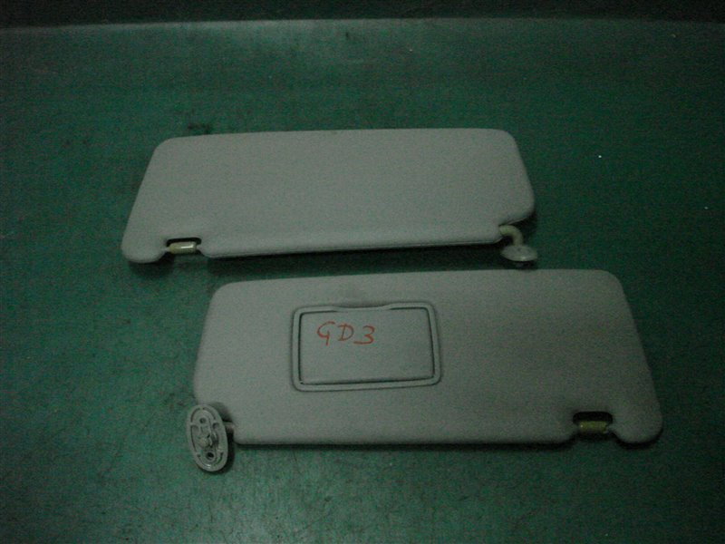 Козырек солнцезащитный Honda Fit GD3 L15A 2002