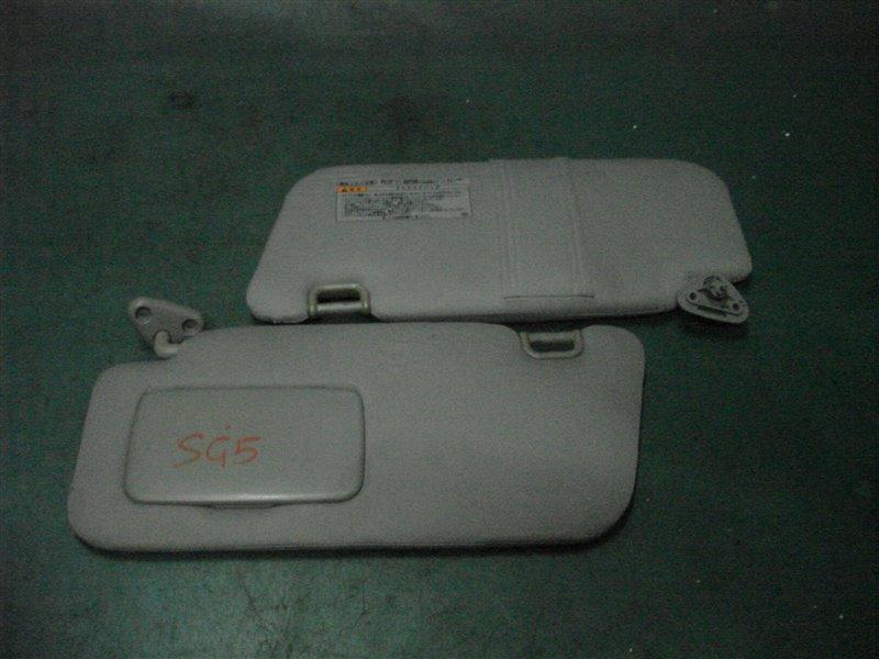 Козырек солнцезащитный Subaru Forester SG5 EJ205 2005