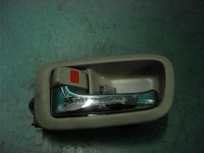 Ручка двери внутренняя Toyota Windom MCV20 1MZ-FE 2000 передняя левая