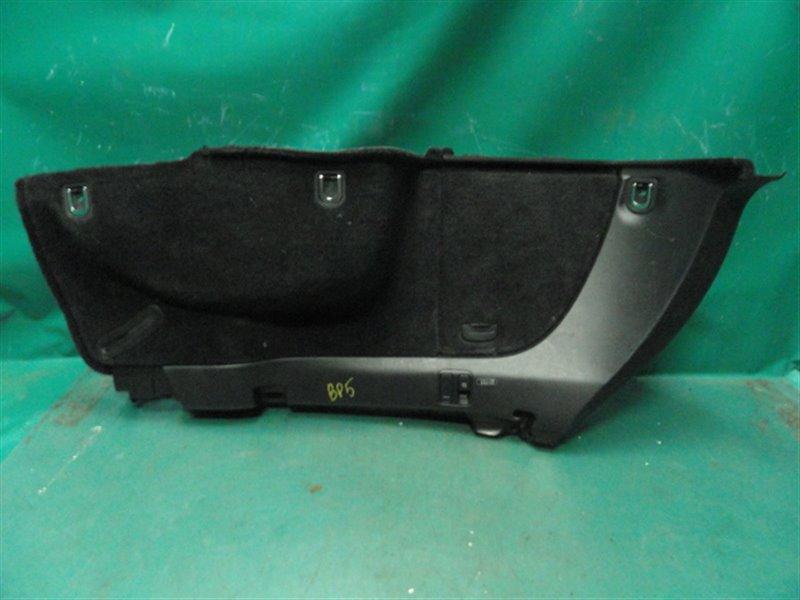 Обшивка багажника Subaru Legasy BP5 EJ20Y 2003 левая нижняя