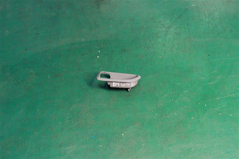Ручка двери внутренняя Mazda Demio DY3W ZJ-VE 2004 задняя левая