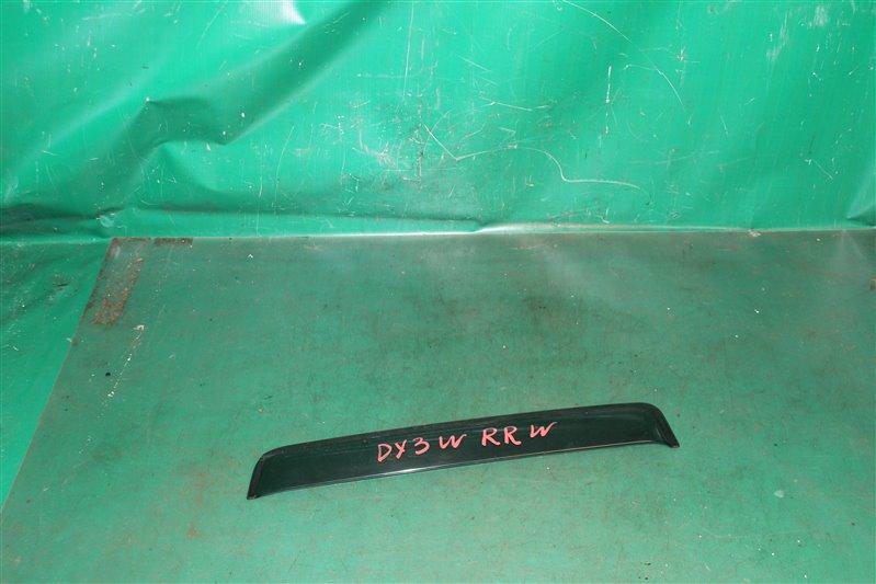 Ветровик Mazda Demio DY3W ZJ-VE 2004 задний правый