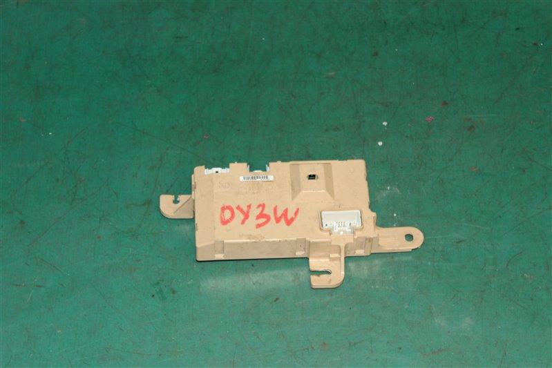 Блок управления кондиционером Mazda Demio DY3W ZJ-VE 2004