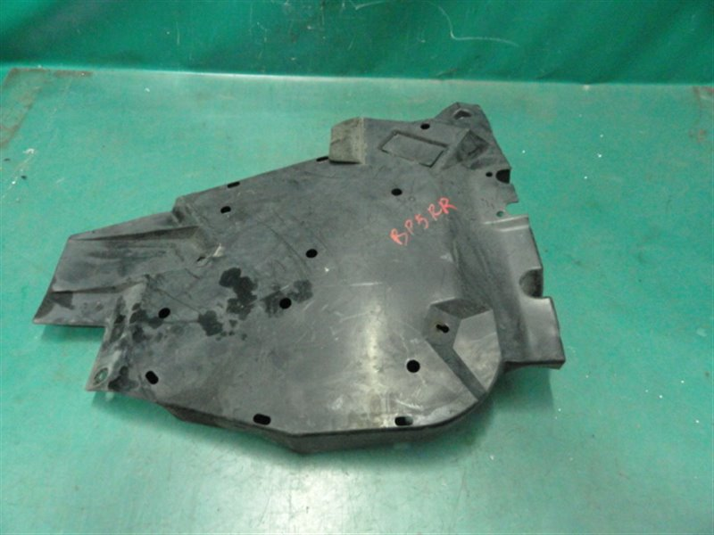 Защита топливного бака Subaru Legasy BP5 EJ20Y 2003 задняя правая