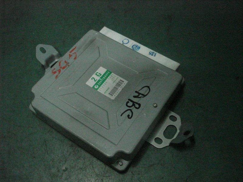 Блок управления efi Subaru Forester SG5 EJ205 2005