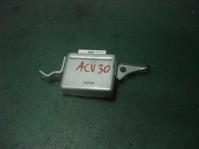 Блок управления подвеской (tems) Toyota Camry ACV30 2AZ-FE 2003
