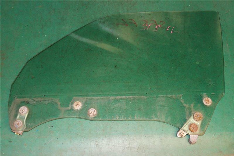 Стекло двери Subaru Forester SF5 EJ201 2001 переднее левое