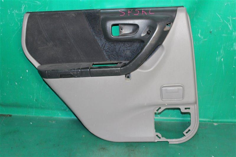 Обшивка двери Subaru Forester SF5 EJ201 2001 задняя левая