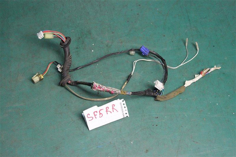 Проводка двери Subaru Forester SF5 EJ201 2001 задняя правая
