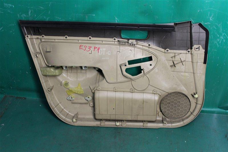Обшивка двери Honda Civic Ferio ES3 D17A 2003 передняя правая