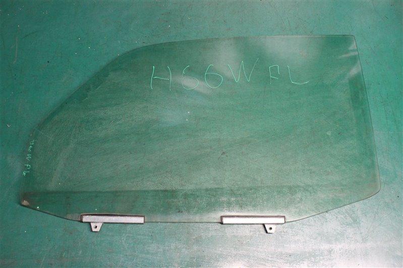 Стекло двери Mitsubishi Pajero Io H66W 4G93 1998 переднее левое