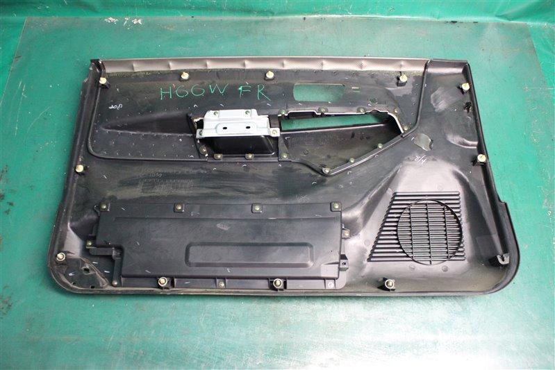 Обшивка двери Mitsubishi Pajero Io H66W 4G93 1998 передняя правая