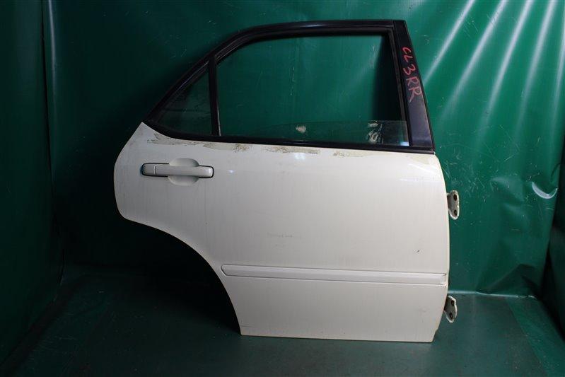 Дверь Honda Accord CL3 F20B 1999 задняя правая