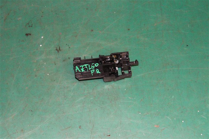 Ручка двери внутренняя Toyota Avensis AZT250 1AZ-FSE 2004 передняя правая