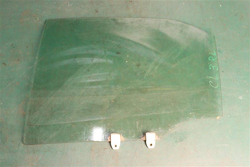 Стекло двери Honda Accord CL3 F20B 1999 заднее левое