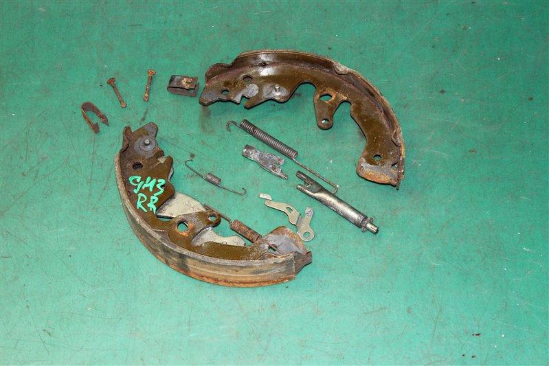Зажим тормозной колодки Subaru Impreza GH2 EL154 2007 задний правый