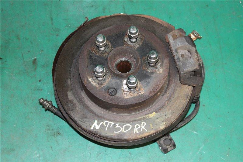 Тормозной диск Nissan X-Trail NT30 QR20(DE) 2002 задний правый