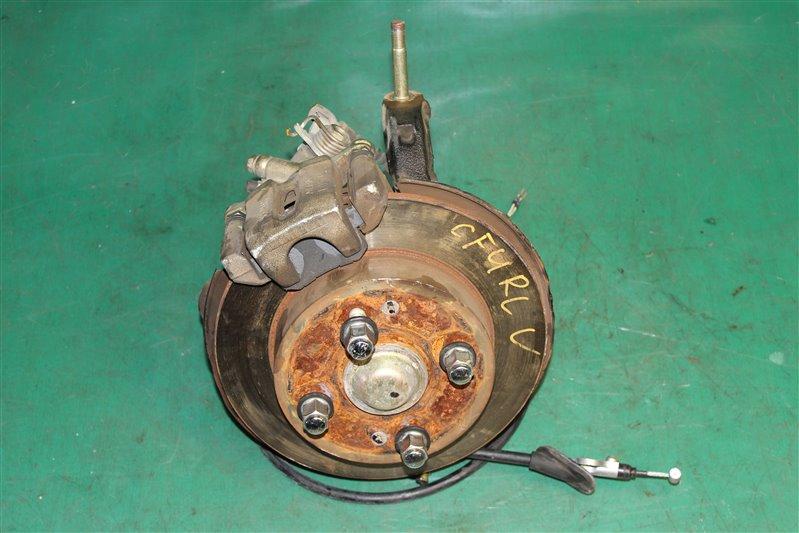 Тормозной диск Honda Accord CL3 F20B 2002 задний