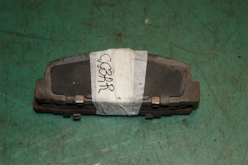 Тормозные колодки Mazda Atenza Sport GG3S L3 2004 заднее правое