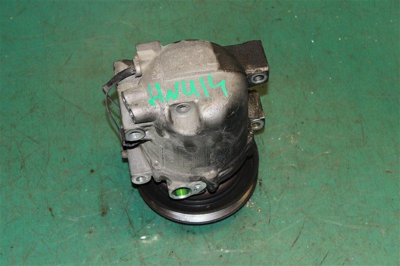 Компрессор кондиционера Nissan Bluebird HNU14 SR20 (DE) 1999