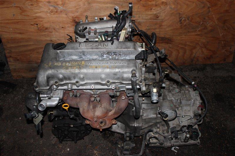 Двигатель Nissan Bluebird HNU14 SR20 (DE) 1999