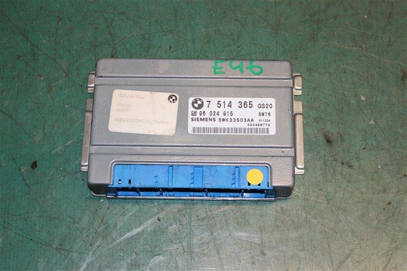 Блок управления efi Bmw 3-Series 318I E46 N42 (2000CC/105KW) 08.01.2002