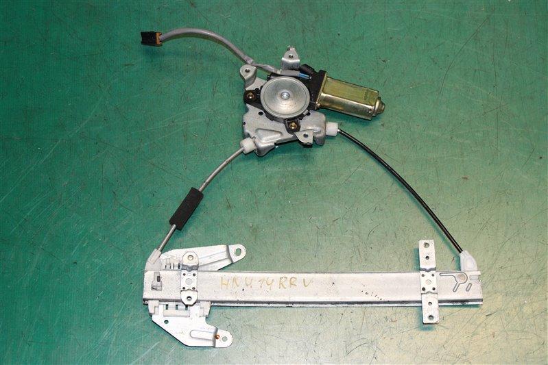 Стеклоподъемник Nissan Bluebird HNU14 SR20 (DE) 1999 задний правый