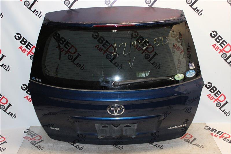Дверь 5-я Toyota Avensis AZT250 1AZ-FSE 2006