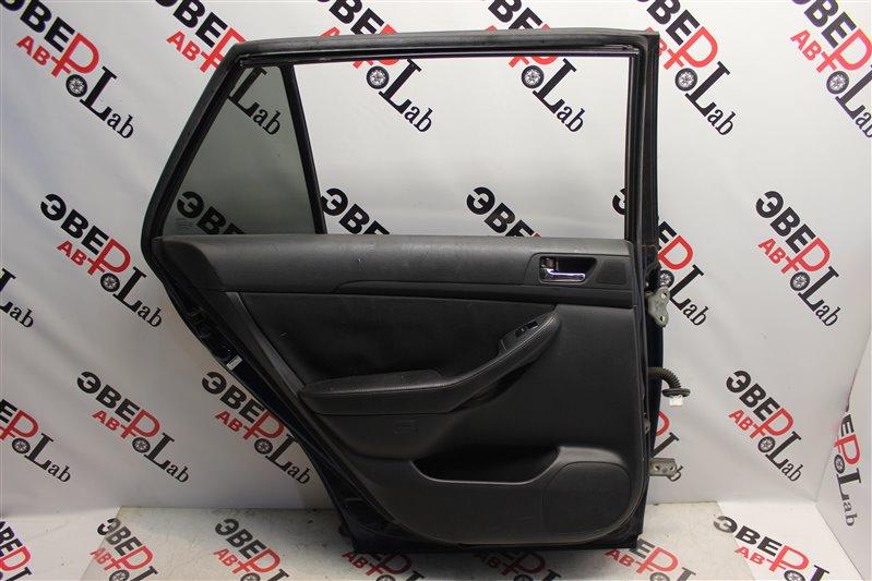 Обшивка двери Toyota Avensis AZT250 1AZ-FSE 2006 задняя левая